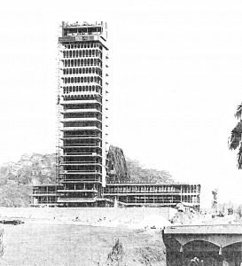 The structure was built in just 14 months  and was officially opened in November 1963.