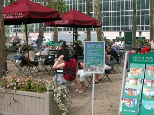 Caption: New York's Bryant Park is a shining example of how public spaces can be maximised which WCSC 2016 aspires to learn from and implement during the conference on Sept 8.