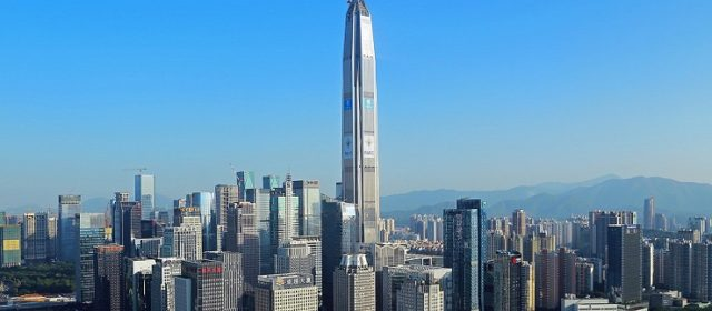China's Ping An Finance Center is fourth tallest in the world