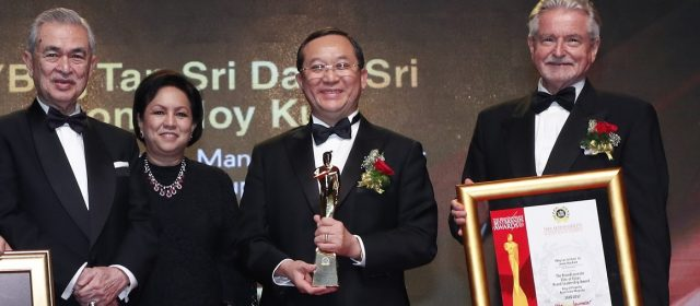 Mah Sing's Leong dubbed 'King' at BrandLaureate awards
