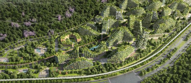 Liuzhou forest city proposes a remarkable future