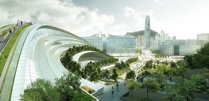 West Kowloon Terminus takes shape after years of delay