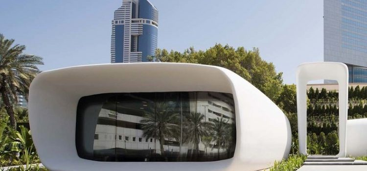 Dubai hosts world's 1st 3D printed office