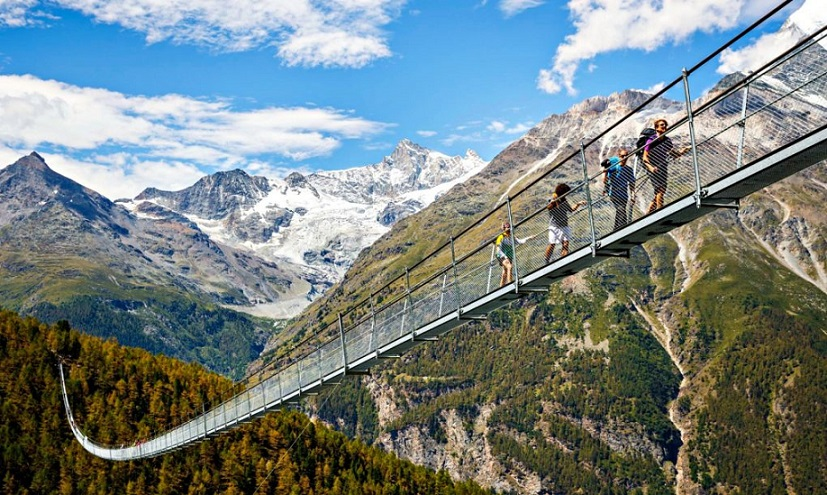 "A Swiss lesson on ""ACROPHOBIA"""