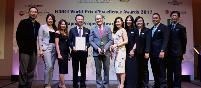 Eco Sanctuary wins at Singapore Property Award 2017