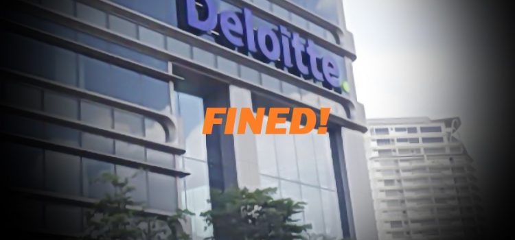 Deloitte gets RM2.2m fine over 1MDB mess