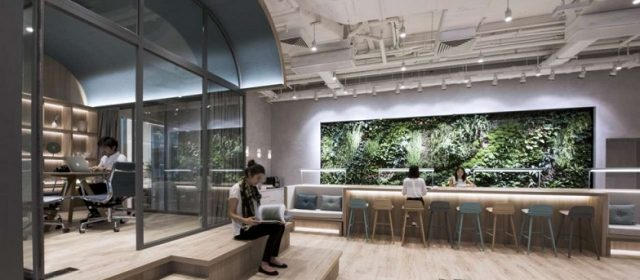 Rising demand for co-working office space in HK